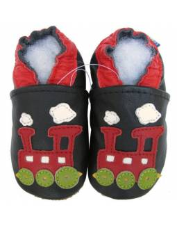 """Zapatos de gateo ecológicos """"Trenecito"""""""