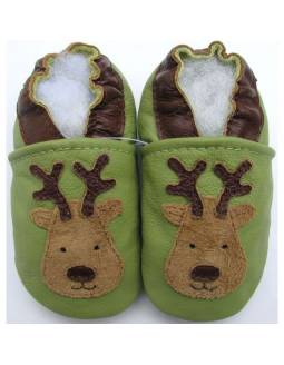 "Zapatos de gateo ecológicos ""Reno"""