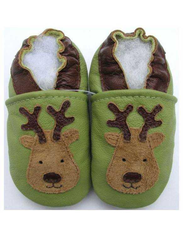 "Zapatos de gateo ecológicos \\""Reno\\"""