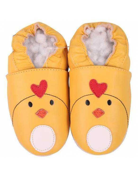 """Zapatos de gateo ecológicos \\""""Pollito\\"""""""