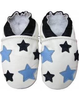 """Zapatos de gateo ecológicos """"Blue Stars"""""""