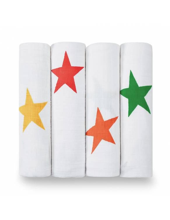 Muselinas PACK aden+anais de algodón - Super Star