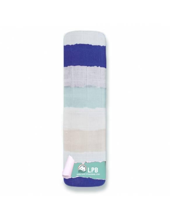 """Muselina individual aden+anais de algodón """"High Seas - Rayas"""""""