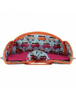 Protector para asiento de coche POP IN - Caravana Naranja