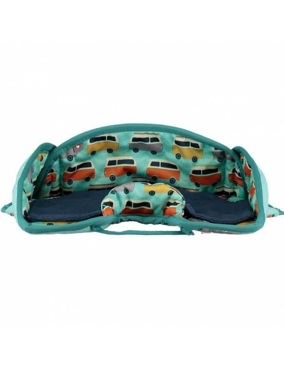 Protector para asiento de coche POP IN - Caravana Verde