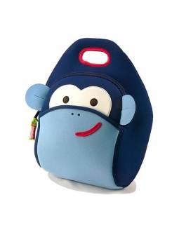 """Bolsa de almuerzo DABBAWALLA con neopreno ecológico y aislante """"Mono Azul"""""""