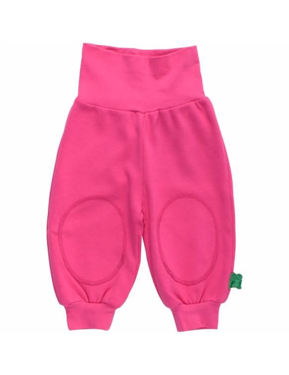 Pantalón FRED'S WORLD de algodón orgánico - Básico Rosa