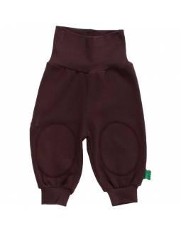 Pantalón FRED'S WORLD de algodón orgánico - Básico Marrón