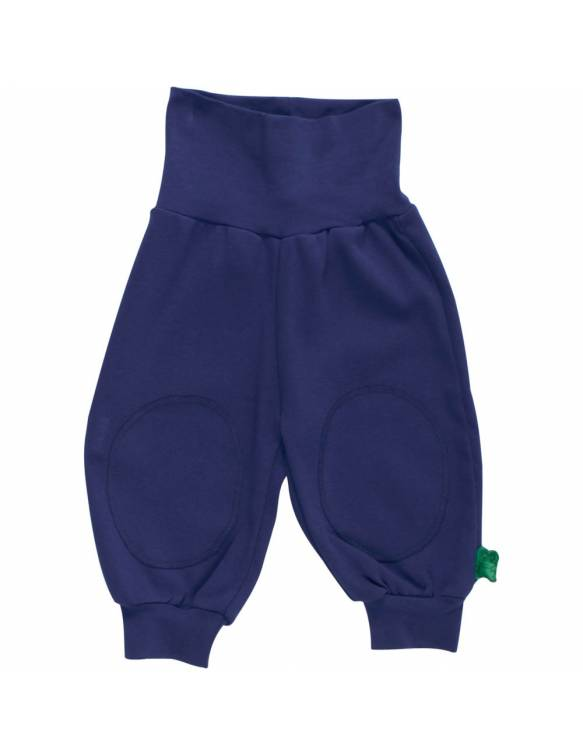 Pantalón FRED'S WORLD de algodón orgánico - Básico Navy