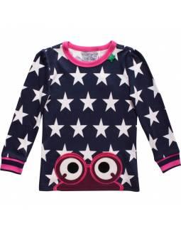 Camiseta bebé FRED'S WORLD de algodón orgánico - Pink Stars