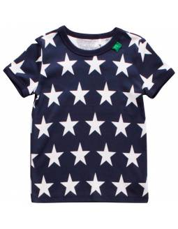 Camiseta bebé FRED'S WORLD de algodón orgánico - Stars