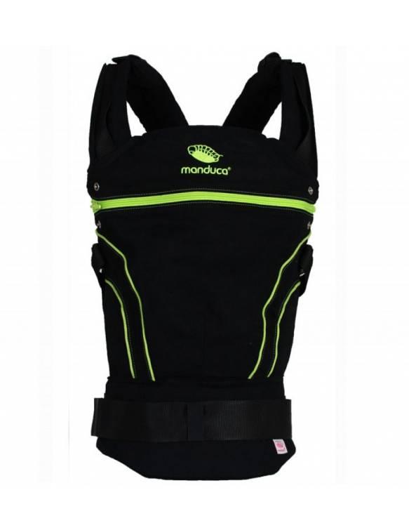 portabebes-mochila-manduca-blackline-verde