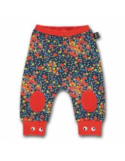 Pantalón Orgánico UBANG con ojos saltarines - Confetti