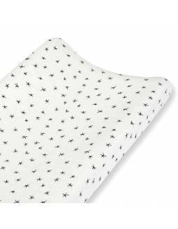 Funda de cambiador ADEN+ANAIS de algodón - Midnight - Estrellas