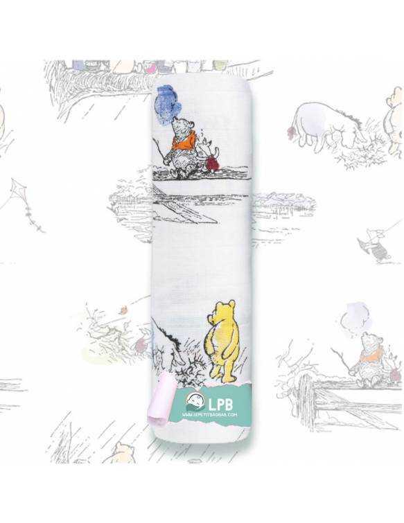 "Muselina individual aden+anais de algodón ""Winnie The Pooh - Paisajes"""