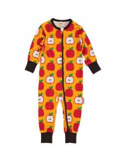 pelele-bebe-algodon-organico-maxomorra-manzana