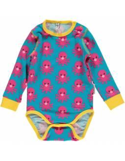 body-bebe-algodon-organico-maxomorra-pulpo