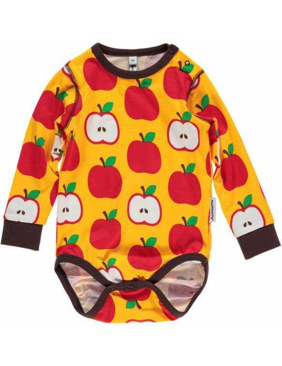 body-bebe-cruzado-algodon-organico-maxomorra-manzanas