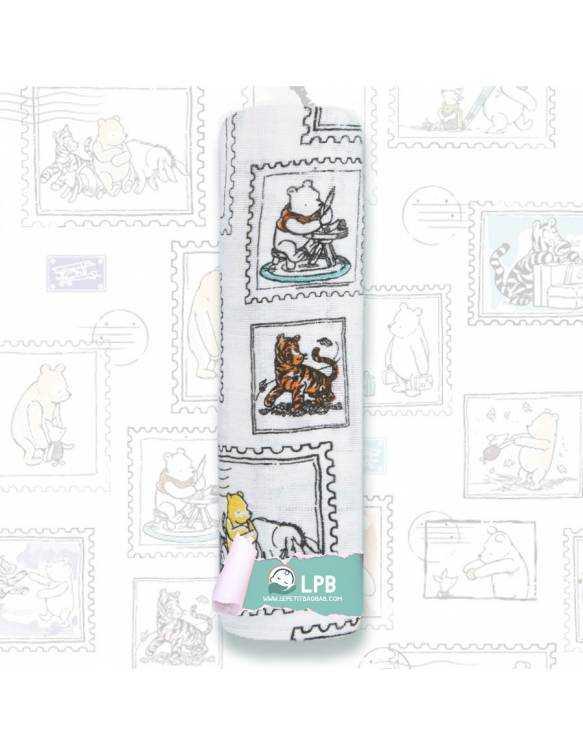 Muselina individual aden+anais DISNEY - Winnie The Pooh - Sellos