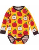 body-bebe-algodon-organico-maxomorra-manzanas