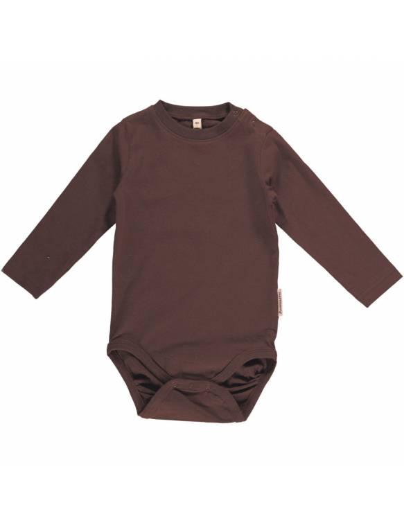 body-bebe-basico-algodon-organico-maxomorra-marron