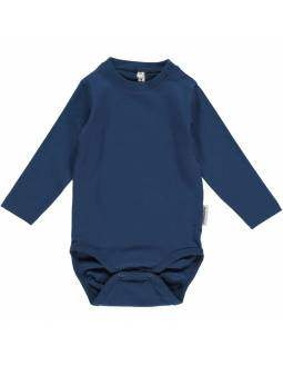 Body básico de algodón orgánico MAXOMORRA - Azul Marino