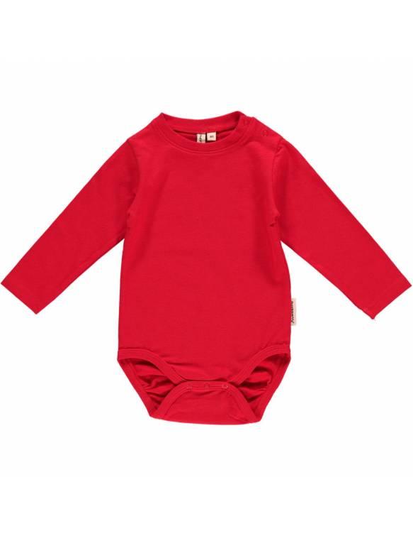 body-bebe-basico-algodon-organico-maxomorra-rojo