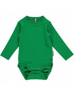 Body básico de algodón orgánico MAXOMORRA - Verde
