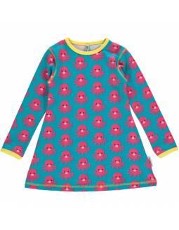 Vestido de algodón orgánico MAXOMORRA - Pulpo