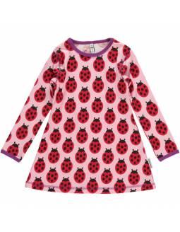 Vestido de algodón orgánico MAXOMORRA - Mariquita