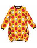 vestido-globo-algodon-organico-maxomorra-manzanas
