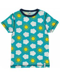 Camiseta Orgánica MAXOMORRA - En las Nubes