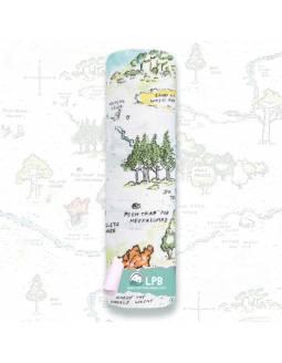 """Muselina individual aden+anais de algodón """"Winnie The Pooh - El Bosque de los 100 acres"""""""