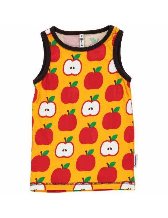 Camiseta Orgánica de Tirantes MAXOMORRA - Manzanas