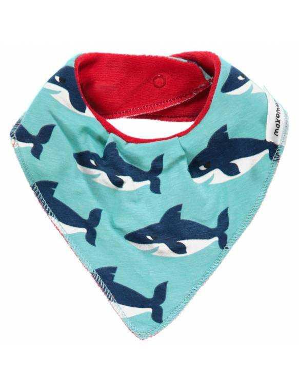 babero-bebe-algodon-organico-maxomorra-tiburon