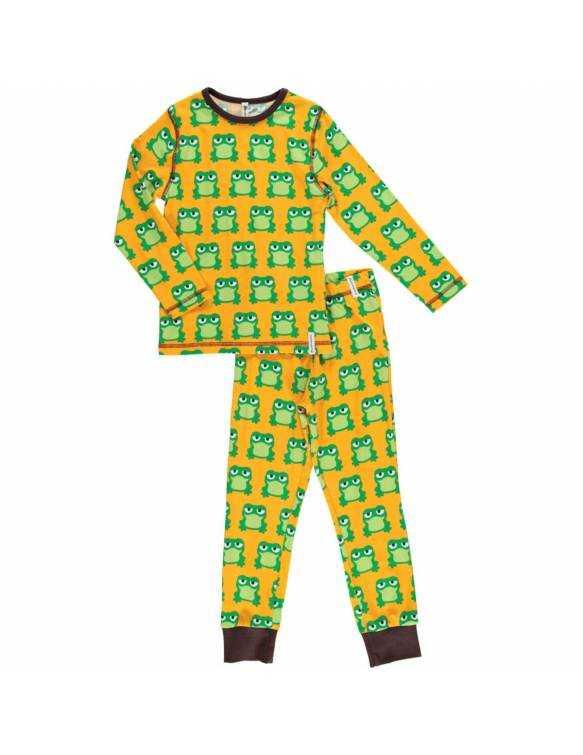 pijama-algodon-organico-maxomorra-ranas
