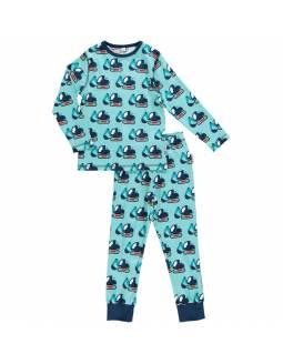 Pijama de algodón orgánico MAXOMORRA - Excavadora