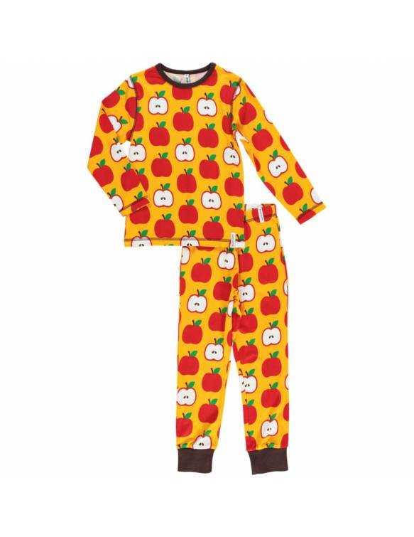 pijama-algodon-organico-maxomorra-manzanas