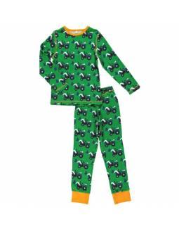Pijama de algodón orgánico MAXOMORRA - Tractor