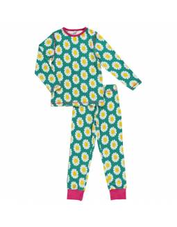 Pijama de algodón orgánico MAXOMORRA - Margarita