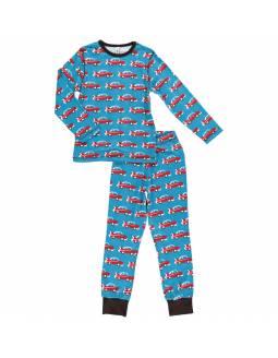 pijama-algodon-organico-maxomorra-coche