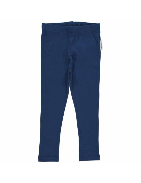Leggins de algodón orgánico MAXOMORRA - Básico Azul
