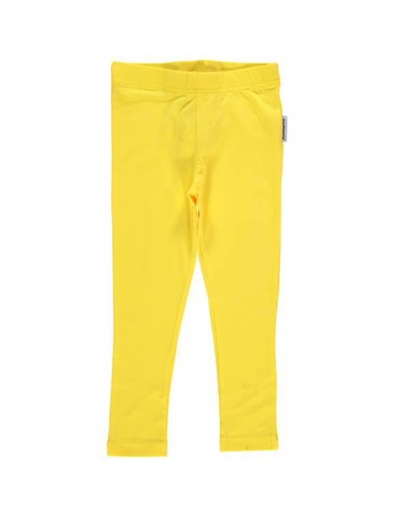 leggins-algodon-organico-maxomorra-basico-amarillo