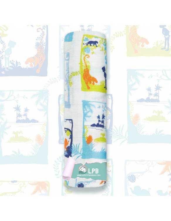 """Muselina individual aden+anais de algodón DISNEY """"El Libro de la Selva - Fotos"""""""
