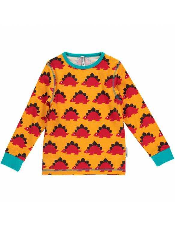 Camiseta Orgánico MAXOMORRA - Dinosaurios