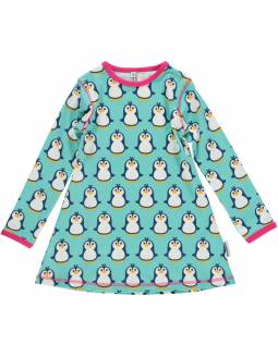 Vestido Orgánico MAXOMORRA - Pingüinos