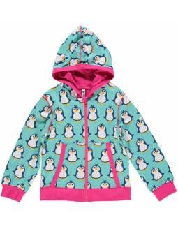 Sudadera Orgánico MAXOMORRA - Pingüinos