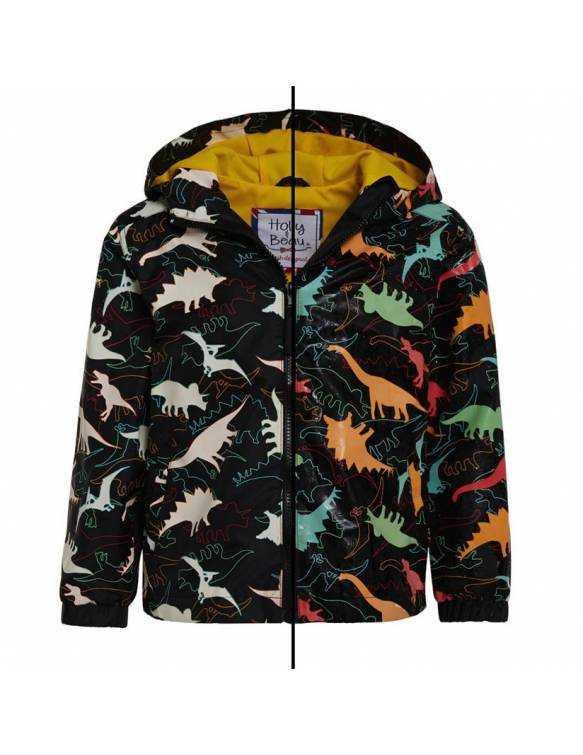 Chubasquero Mágico HOLLY & BEAU que cambia de color - Dinosaurios
