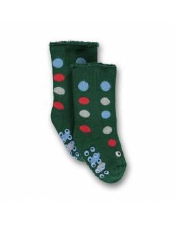 Calcetines UBANG de tela de toalla súper calentitos - Verde