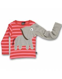 camiseta-ubang-de-algodon-organico-elefante-melocoton